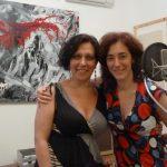 Con Jacqueline Sigaut en la Grabación del tango Encuentros y Desencuentros