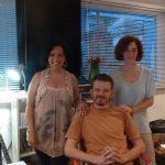 Con Mariano Ondarts de Estudios MOMUSICA- Grabación del Tango